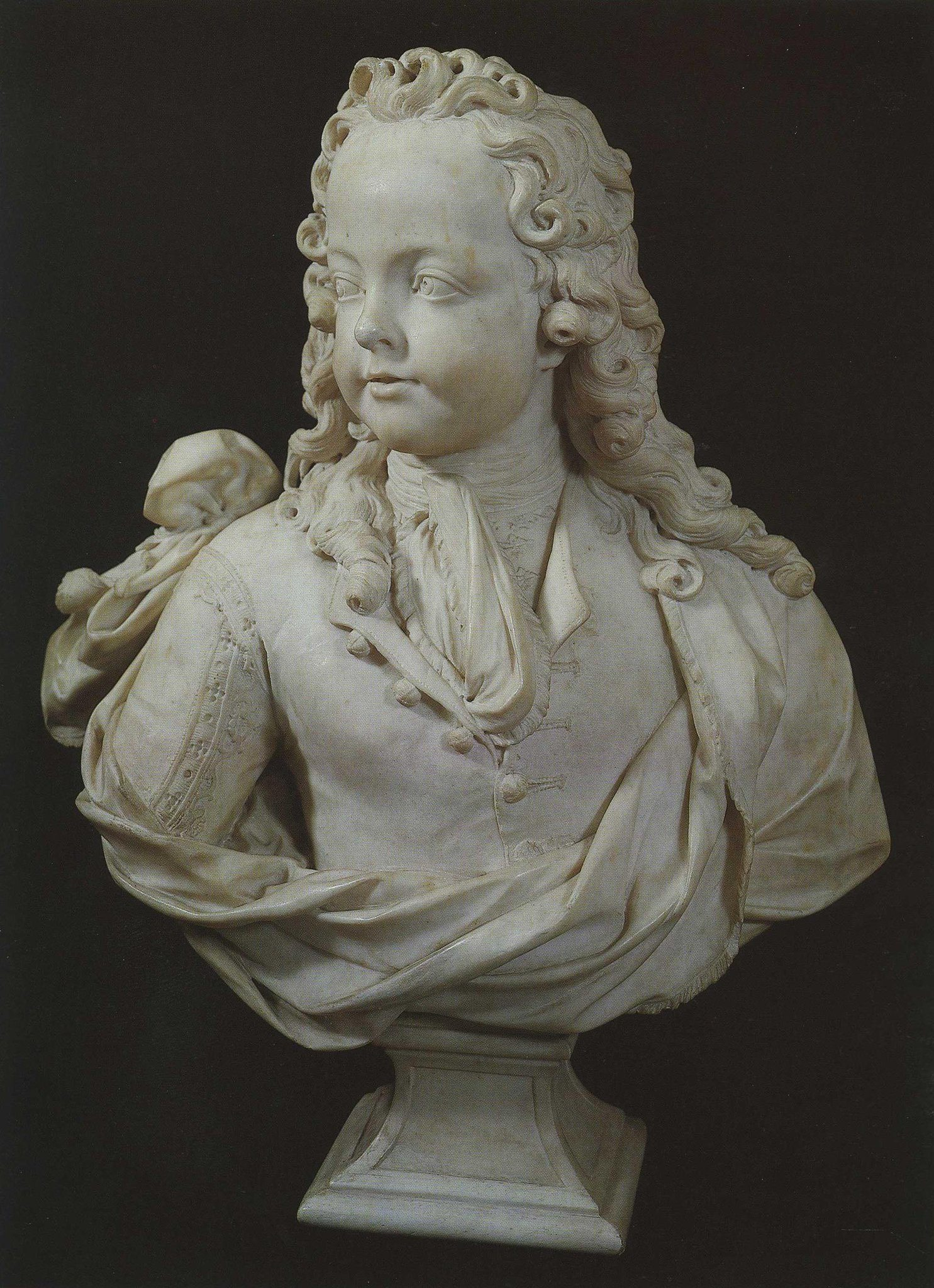 Coysevox, Louis ~ Bust Of Louis XV As A Child Of Six