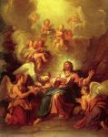 Coypel, Antoine ~ Christ Served by the Angels