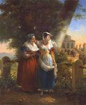 Haudebourt Nee Lescot, Antoinette-Cecile-Hortense ~ Italian Women