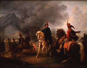 Vernet, Carle (Antoine-Charles-Horace) ~ A General with his Aide de Camp