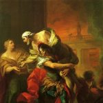 Van Loo, Carle ~ Aeneas Carrying Anchises