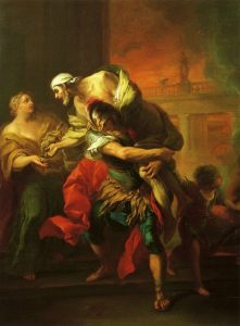 Van Loo, Carle ~ Aeneas Carrying Anchises