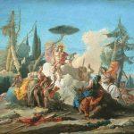 Tiepolo, Giambattista ~ Apollo receiving Homage from the Muses