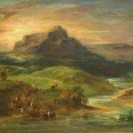 Delacroix, Eugène ~ Arab Riders Crossing The Sebou River