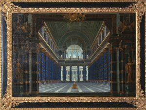 Rousseau, Jacques ~ Architectural Perspective : A Temple