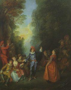 Lancret, Nicolas ~ Bal Champêtre