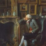 Danloux, Henri ~ Baron De Besenval In His Study