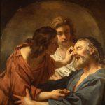 de Troy, Jean-François ~ Blind Tobias being Healed
