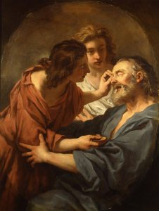 de Troy, Jean-François ~ Blind Tobias being Healed