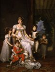 Gérard, Baron François ~ Caroline Bonaparte, Queen of Naples, and Her Children