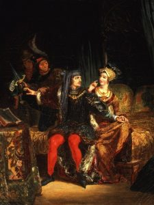 Delacroix, Eugène ~ Charles VI and Odette de Champdivers