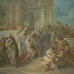 Lemoyne, François ~ Christ Healing the Blind Man