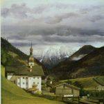 Bendz, Vilhelm-Ferdinand ~ Church at Ramsau, Austria