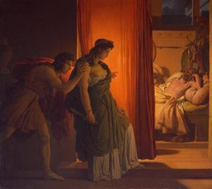 Guérin, Baron Pierre-Narcisse ~ Clytemnestra And Agamemnon