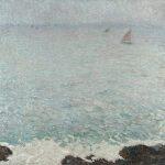 Martin, Henri-Jean Guillaume ~ Collioure Mer Grise, circa 1920