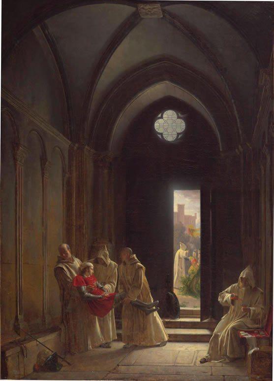 Fleury, François Richard ~ Death Of The Prince De Talmont (La Mort Du Prince De Talmont)