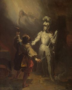 Fragonard, Alexandre-Evariste ~ Don Juan and the Statue of the Commander