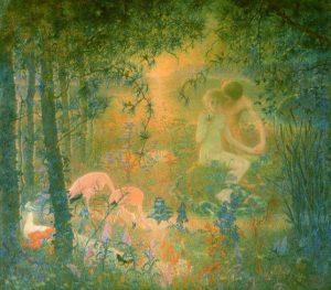 Lévy-Dhurmer, Lucien ~ Eden: Passion