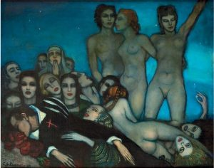 Beltran Masses, Federico ~ El sueño de Don Juan (The dream of Don Juan), 1930s
