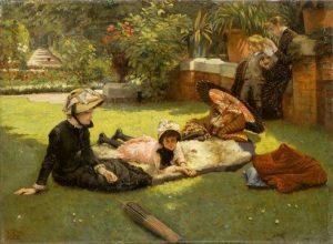 Tissot, James Jacques Joseph ~ En plein soleil