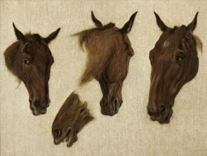 Agasse, Jacques-Laurent ~ Equine Study
