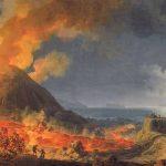 Volaire, Pierre-Jacques ~ Eruption Of Vesuvius By Moonlight