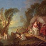 Pater, Jean-Baptiste ~ Fête Galante: La Barque De Plaisir