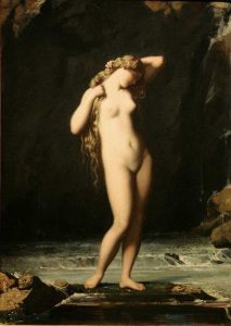 Lehmann, Henri ~ Female Nude: La Source