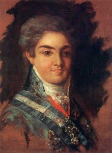 Goya, Francisco de ~ Ferdinand, Prince Of The Asturias, Later Ferdinand