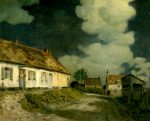 Cazin, Jean-Charles ~ Henry Poor's Cottage: Full Moon