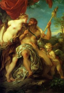 Lemoyne, François ~ Hercules and Omphale