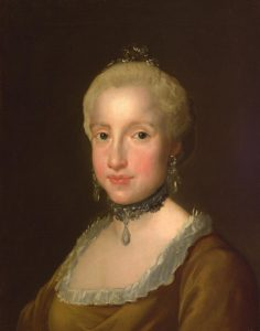 Mengs, Anton Raphael ~ Infanta Maria Ludovica of Spain and the two Sicilies