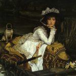 Tissot, James Jacques Joseph ~ Jeune femme en Bateau (Young Lady in a Boat)