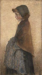 Lévy-Dhurmer, Lucien ~ Jeune fille rousse
