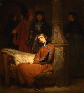 Saint-Evre, Gillot ~ Joan of Arc in Prison