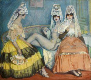 Beltran Masses, Federico ~ La Maja Marquesa, 1915