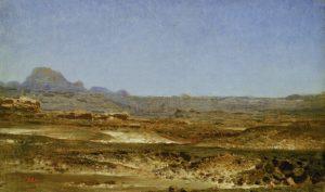 Belly, Léon Adolphe Auguste ~ Le desert du Sinai
