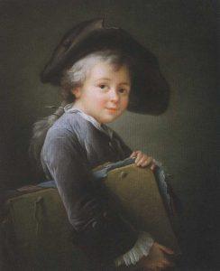 Drouais, François Hubert ~ 'Le jeune Elève'