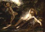 Girodet-Trioson, Anne-Louis ~ Le Sommeil D'Endymion (blond)