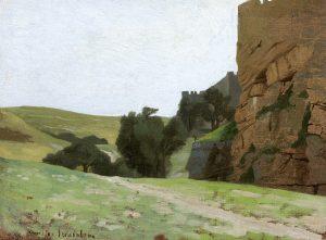Gérôme, Jean-Léon ~ Les murs de Jérusalem