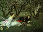 Tissot, James Jacques Joseph ~ Le Printemps (Spring)