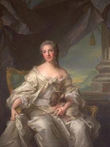 Nattier, Jean-Marc ~ Madame La Comtesse D'Argenson