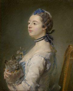 Perronneau,  Jean-Baptiste ~ Magdaleine Pinceloup de la Grange (one of a pair)