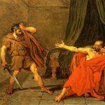 Drouais, Jean Germain ~ Marius a prisoner at Minternes