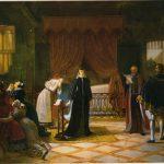 Vermay, Jean-Baptiste ~ Mary Queen of Scots receiving her death sentence