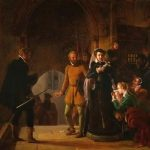Révoil, Pierre ~ Mary Queen Of Scots Seperated From Her Faithful Servants (Sold)