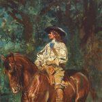Meissonier, Jean-Ernest-Louis ~ Mounted Cavalier