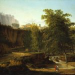 Gautier, Jean-Rodolphe ~ Neo-classical Landscape with a View of a Town