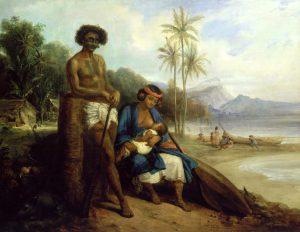 Colin, Alexandre-Marie ~ Noukahiriens dans l¨ île d'Otaïti