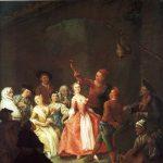 Longhi, Pietro ~ Peasants dancing La Furlana